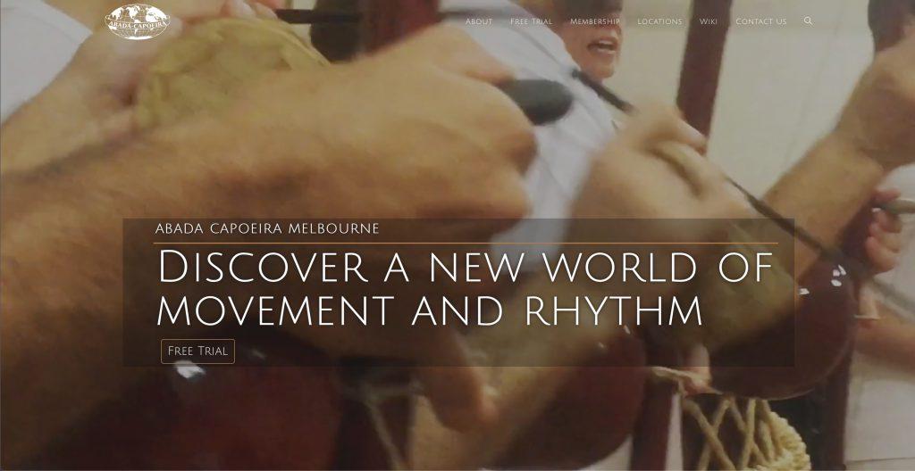 New abada Capoeira Website 2019